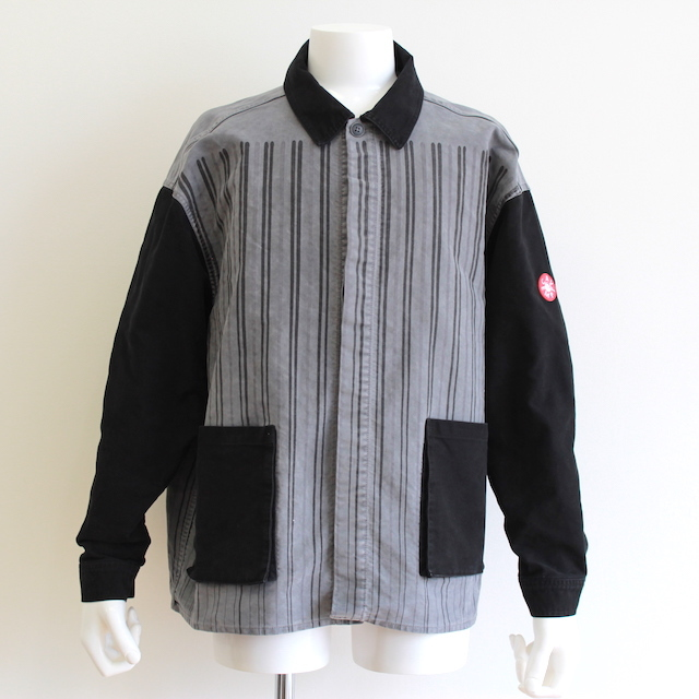 C.E/CAV EMPT STRIPE SHIRT JACKET