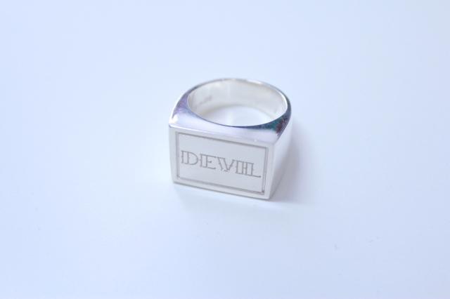 SUB-AGE. 17SS-SAAC-04 SILVER RING DEVIL