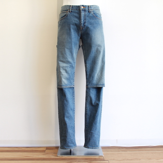 JIEDA USED 2WAY SLIM DENIM PANTS (IND)