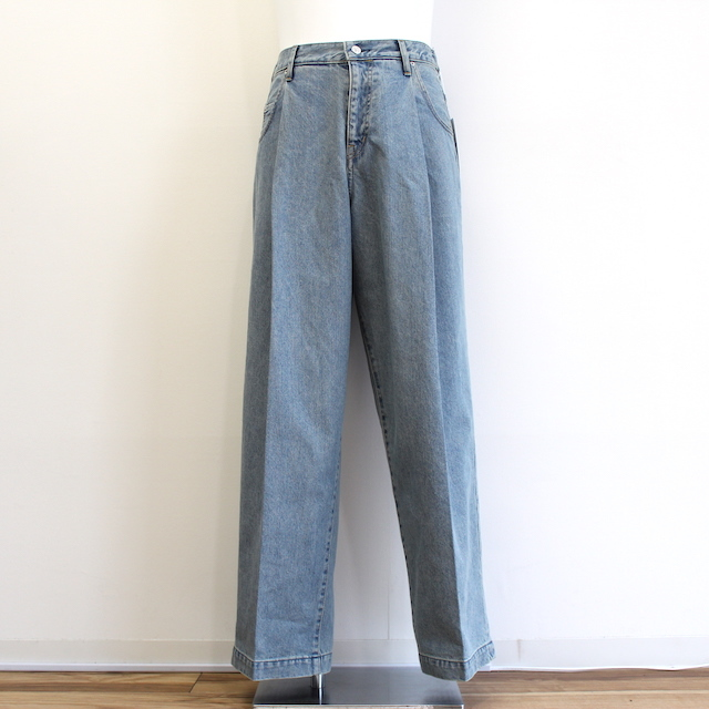 "再入荷 NEONSIGN WIDE DENIM SLACKS ""USED"""