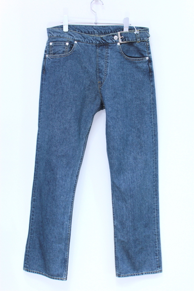 "60%OFF NEONSIGN/ネオンサイン SIDE ADJUSTER DENIM ""USED"" 700"