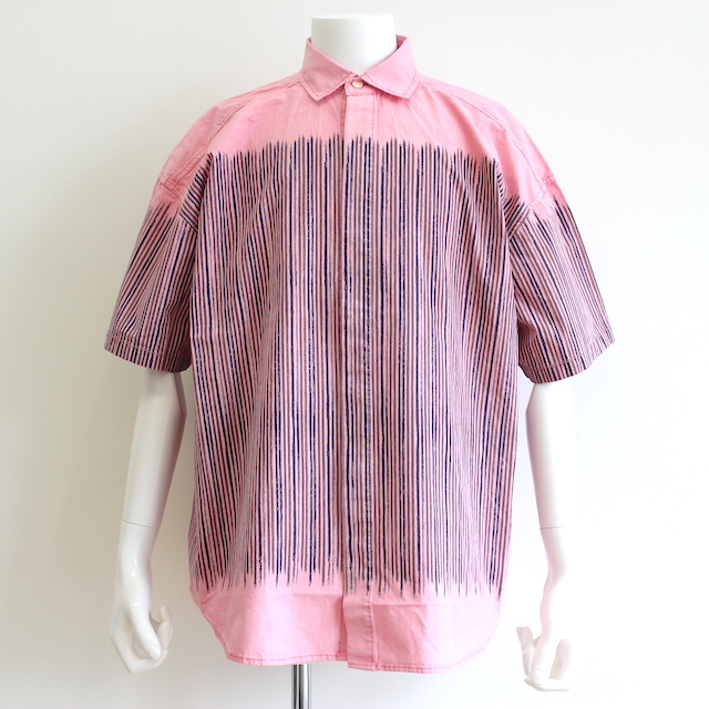 C.E/CAVEMPT STRIPE SHORT SLEEVE SHIRT