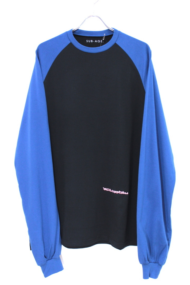 40%OFF SUB-AGE/サベージ L/S T-SHIRT 17AW-SATS-10