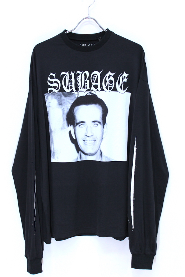 40%OFF SUB-AGE/サベージ L/S T-SHIRT 17AW-SATS-01