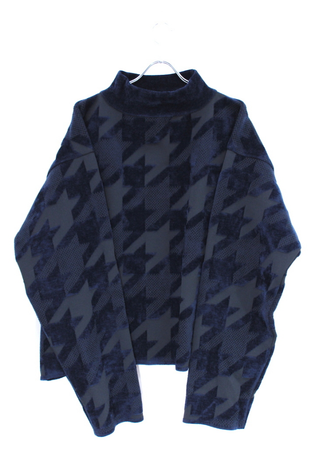 50%0FF NEONSIGN/ネオンサイン HOUNDSTOOTH SWEATER 695