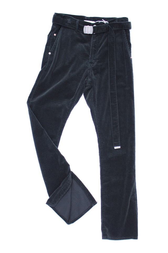 doublet 17AW12PT58 CORDUROY SKINNY PANTS