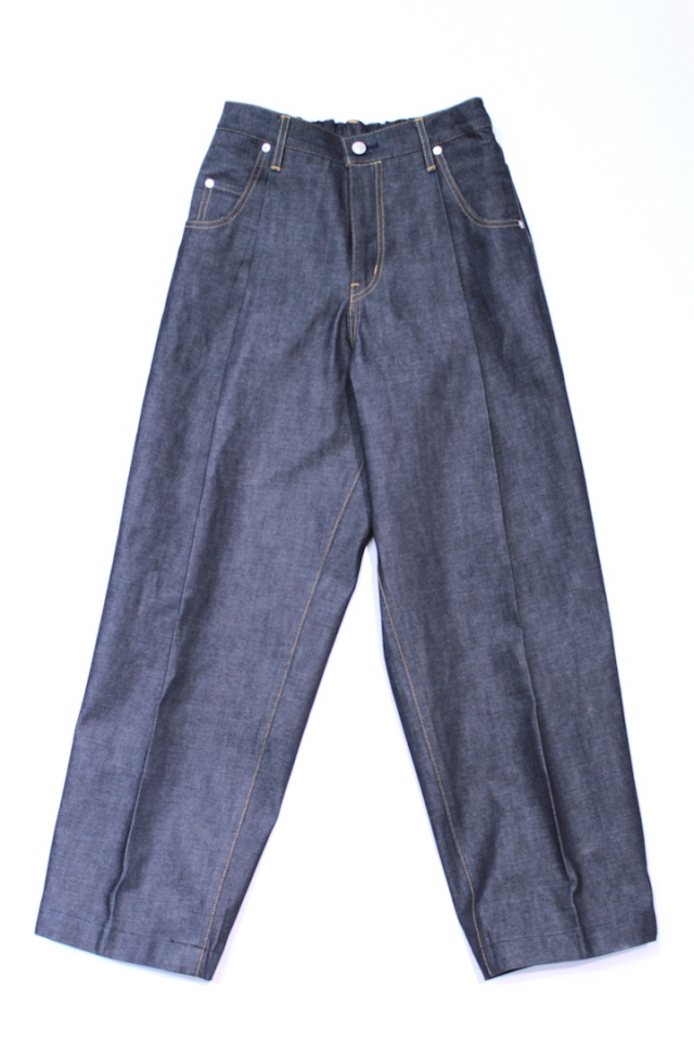 "NEONSIGN/ネオンサイン WIDE DENIM SLACKS ""RIGID"" 343"