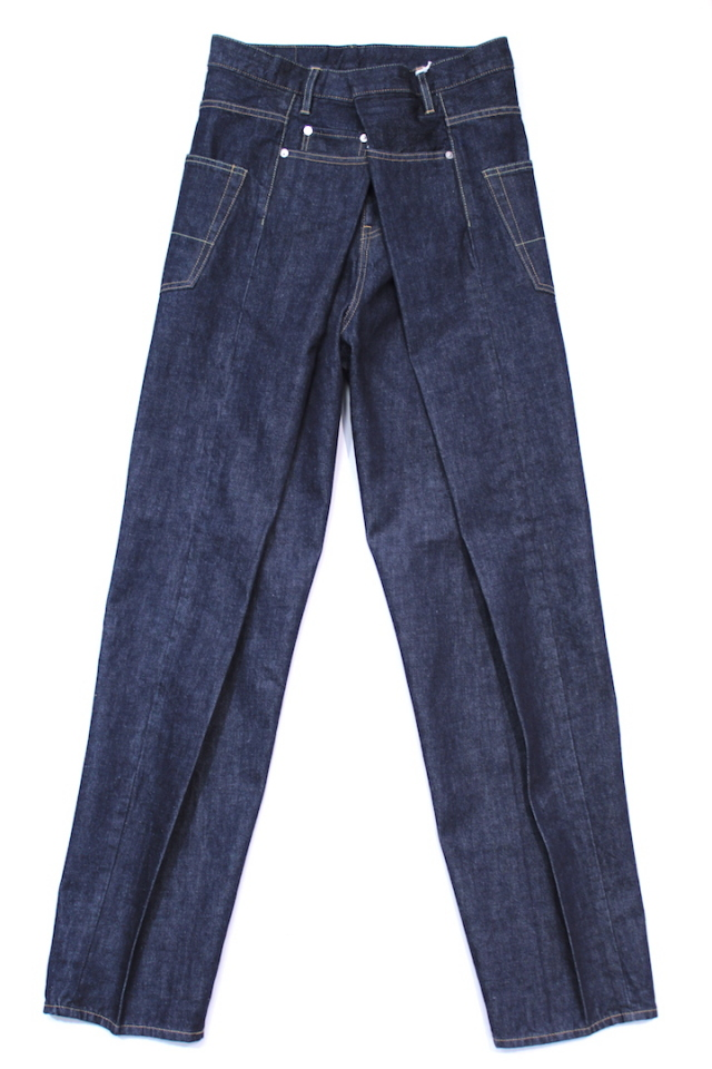 "NEONSIGN/ネオンサイン  CHICANO DENIM SLACKS ""WASH"" 781"