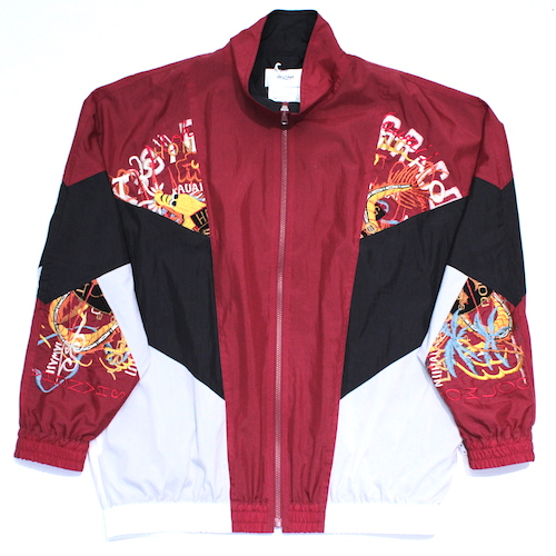 doublet/ダブレット BREAK UP EMBROIDERY TRACK JACKET