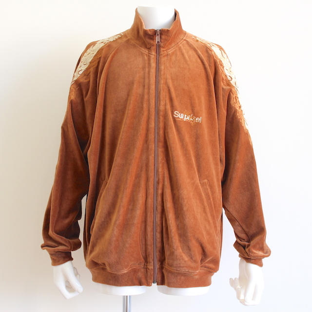 doublet LINED CHAOS EMBROIDERY TRACK JACKET CML