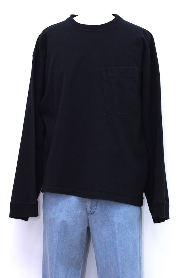 R.M GANG T-001 WIDE SLEEVE T-SHIRT L/S 2カラー