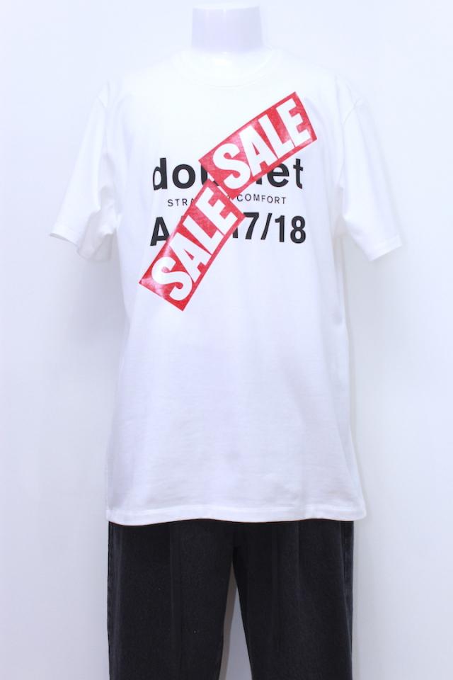 doublet 18SS23CS96 A/W 17/18 SALE PRINT T-SHIRT 2カラー