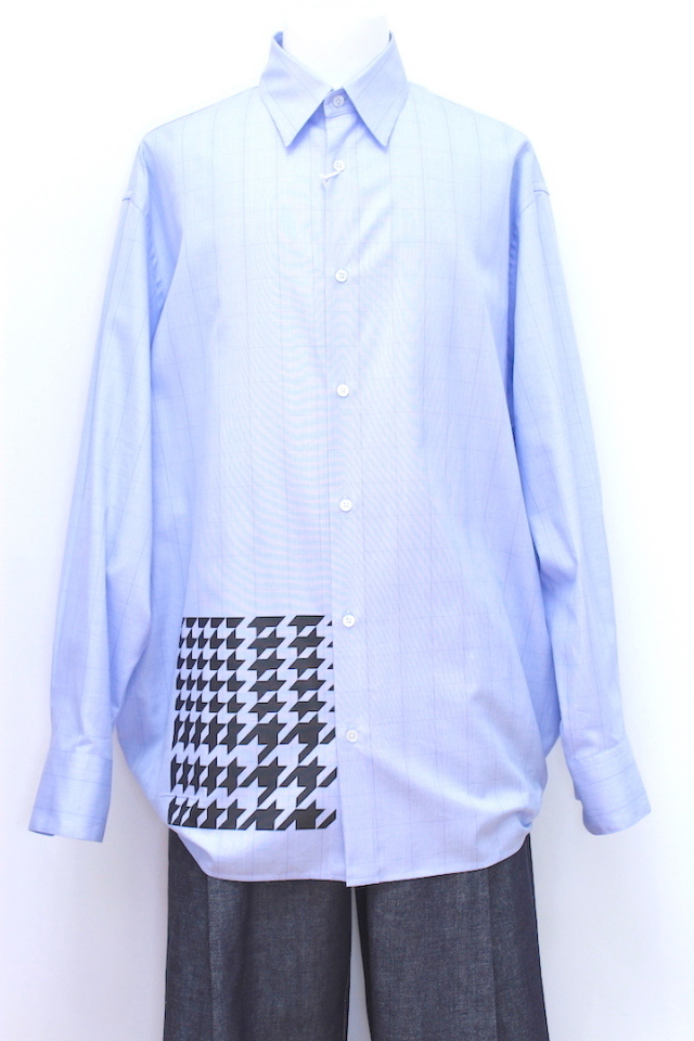 "NEONSIGN 787 CONNECTOR SHIRT ""GLENCHECK DIAGRAM"""