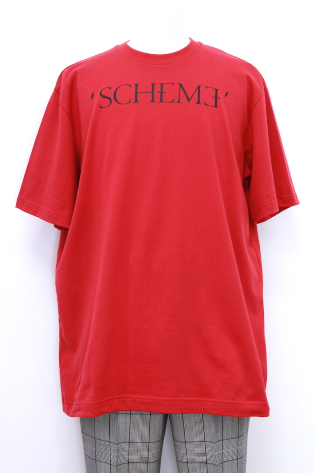 "JOHNLAWRENCESULLIVAN 5A014-0318-43 T-SHIRT S/S ""SCHEME"" 2カラー"