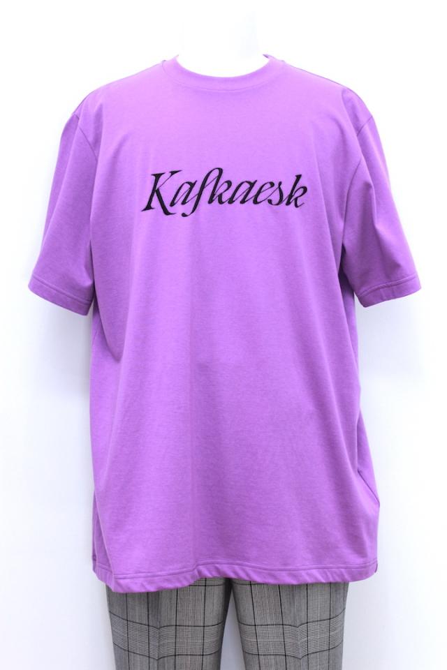 "JOHNLAWRENCESULLIVAN 5A016-0318-44 EMBROIDERY T-SHIRT S/S ""kafkaesk"" 3カラー"