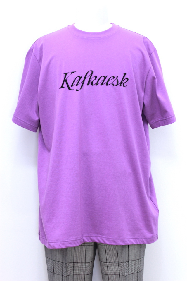 "JOHNLAWRENCESULLIVAN 5A016-0318-44 EMBROIDERY T-SHIRT S/S ""kafkaesk"" 3カラー"