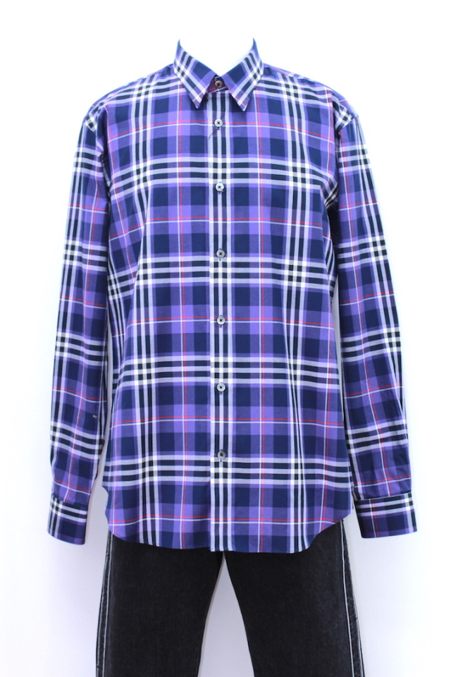 JOHNLAWRENCESULLIVAN 3A007-0118-09 ORIGINAL CHECK SHIRT 2カラー
