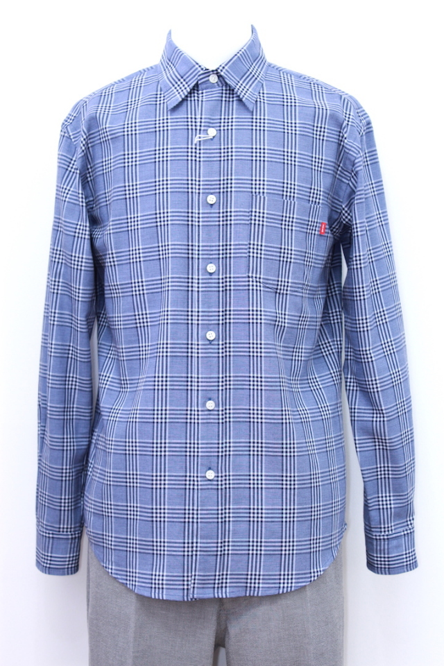 "KAIKO 18-005 CHECK SHIRT ""BLUE"""