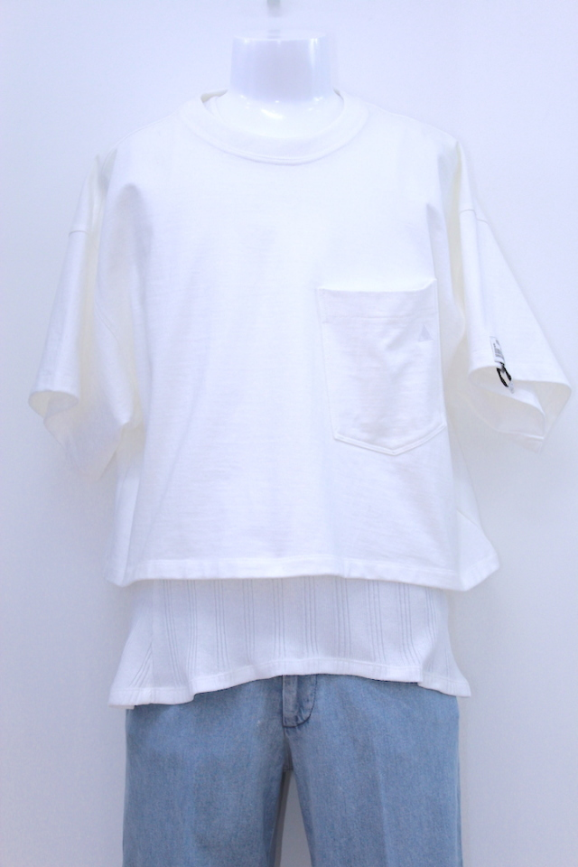 R.M GANG T-003 OVER SIZED SHORT T-SHIRT S/S 2カラー