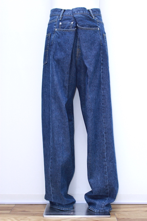 "NEONSIGN 782 CHICANO DENIM SLACKS ""USED"""