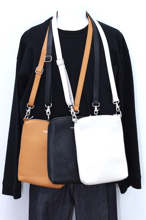 KAIKO BA-001 LEATHER SHOULDER BAG 3カラー