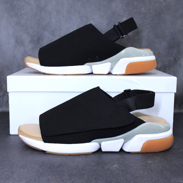 ORPHIC CGW02A18 CG WRAP BLACK SUEDE