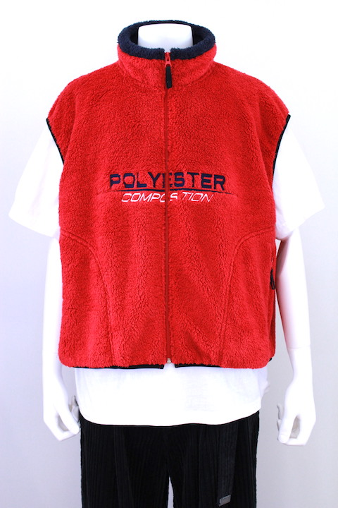 "doublet 18AW23VE06 ""POLYESTER"" FLEECE VEST 2カラー"