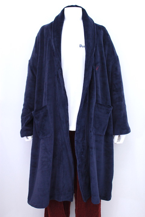 doublet 18AW22CO24 VELOUR BATH-ROBE COAT