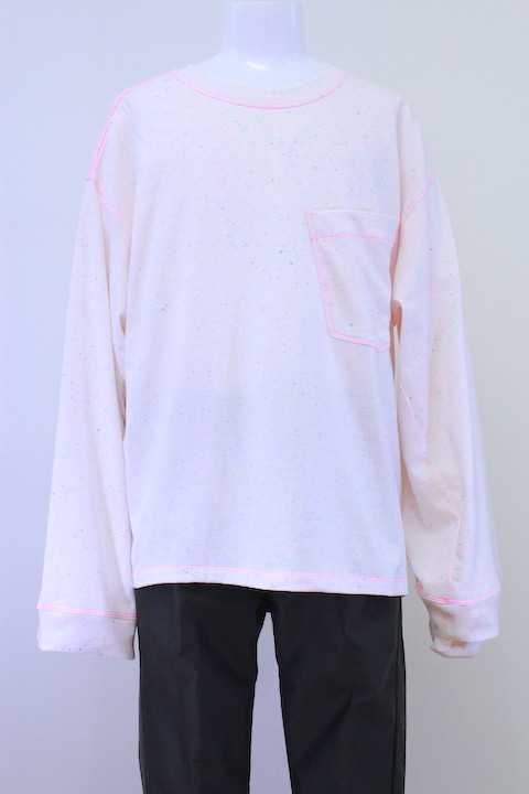 R.M GANG T-001 COLOR NEP WIDE SLEEVE T-SHIRT L/S