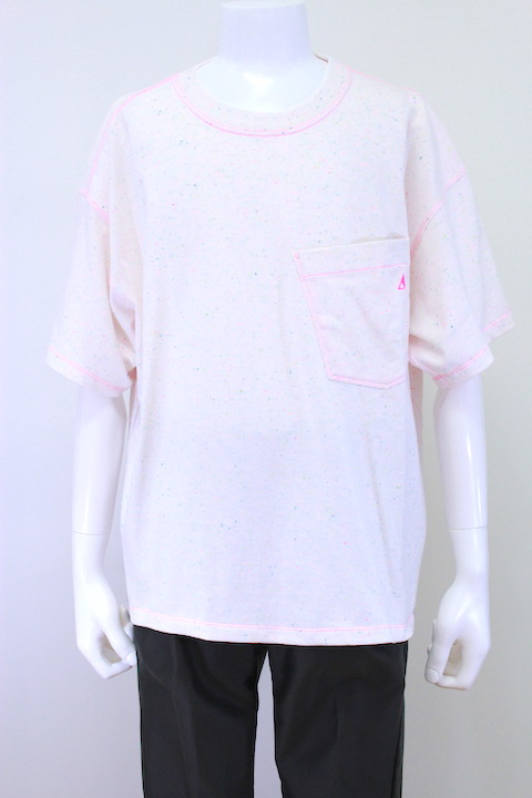 R.M GANG T-002 COLOR NEP OVERSIZED T-SHIRT S/S