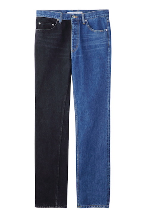 [予約商品] JOHNLAWRENCESULLIVAN 2B007-0318-36 DENIM COMBINATION PANTS
