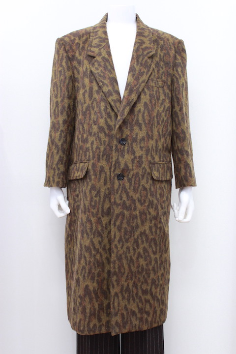 JOHNLAWRENCESULLIVAN CHESTERFIELD COAT