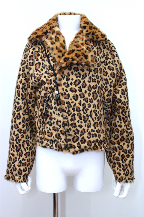 R.M GANG R031 LEOPARD RACING JACKET