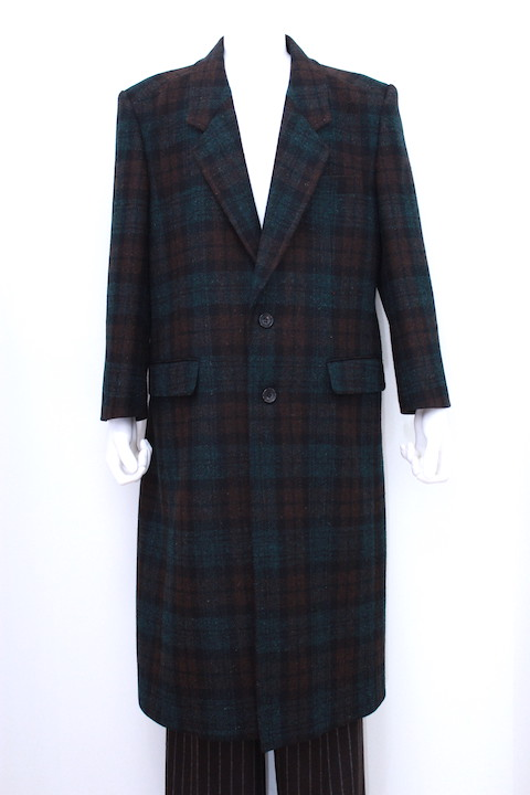 JOHNLAWRENCESULLIVAN 1B004-0218-14 CHESTERFIELD COAT