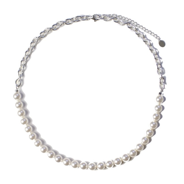SWITCHING PEARL NECKLACE 8mm