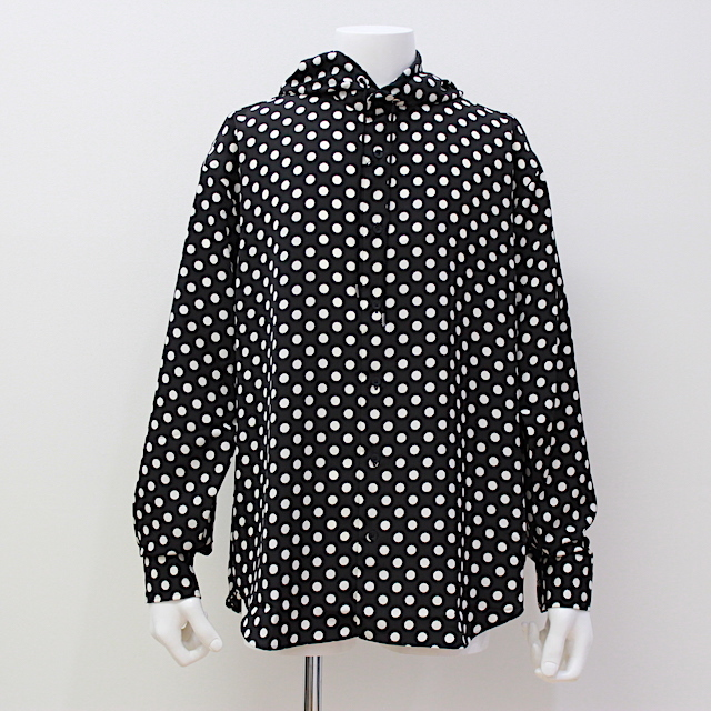 JOHNLAWRENCESULLIVAN DOT HOODED SHIRT 2カラー