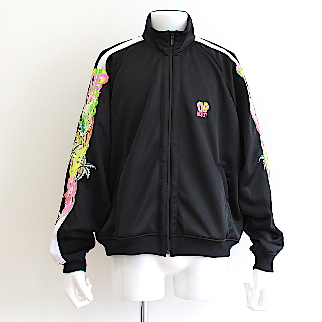 doublet 19SS08BL83 CHAOS EMBROIDERY TRACK JACKET 2カラー