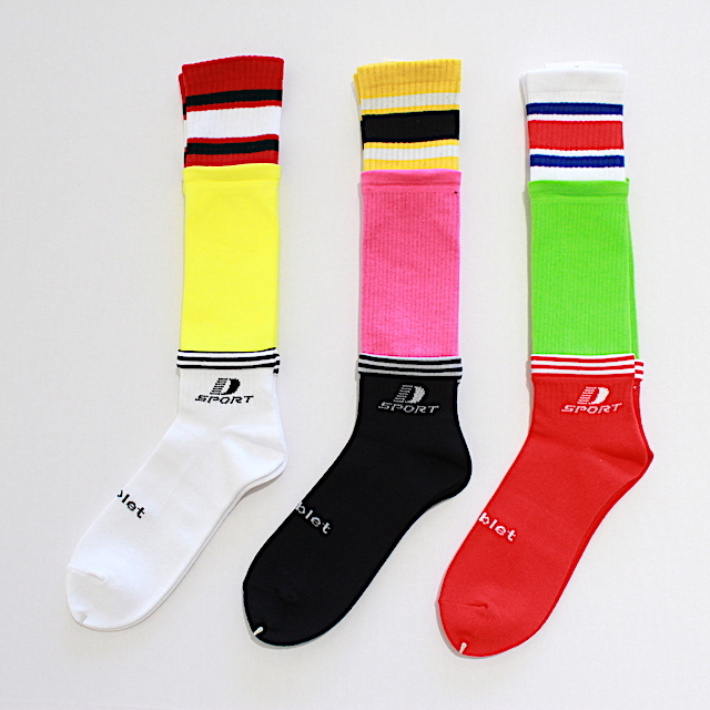 doublet 19SS39SC05 3LAYERED SPORTS SOCKS 3カラー