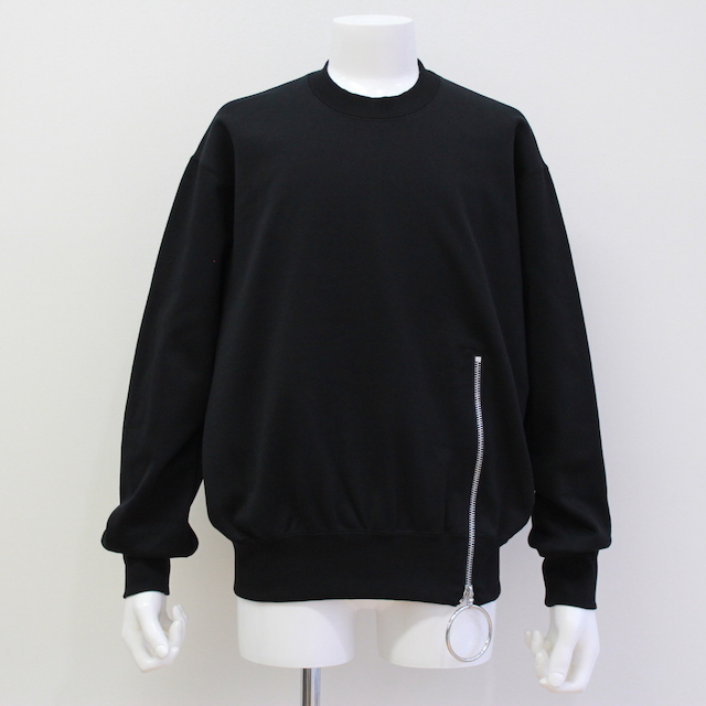 JOHNLAWRENCESULLIVAN ZIPPED SWEAT SHIRT 2カラー