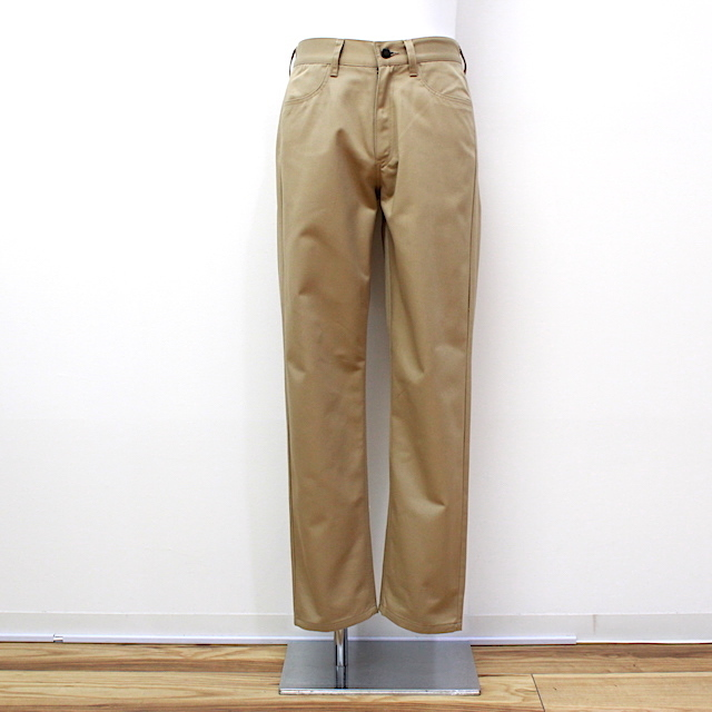 KAIKO PT-003 THE CHINO TROUSER SLIM TAPERED 2カラー