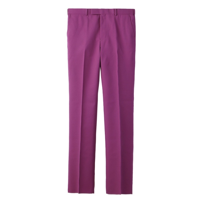 JOHNLAWRENCESULLIVAN STRAIGHT TROUSERS PINK