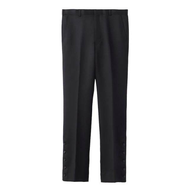 JOHNLAWRENCESULLIVAN SLITED TROUSERS