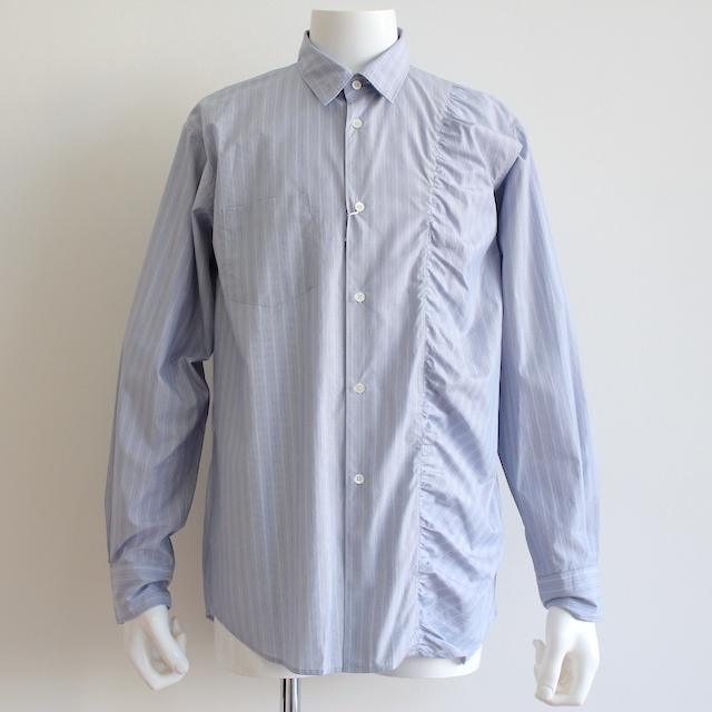 KUDOS KUDOS GATHERED SHIRT BLUE