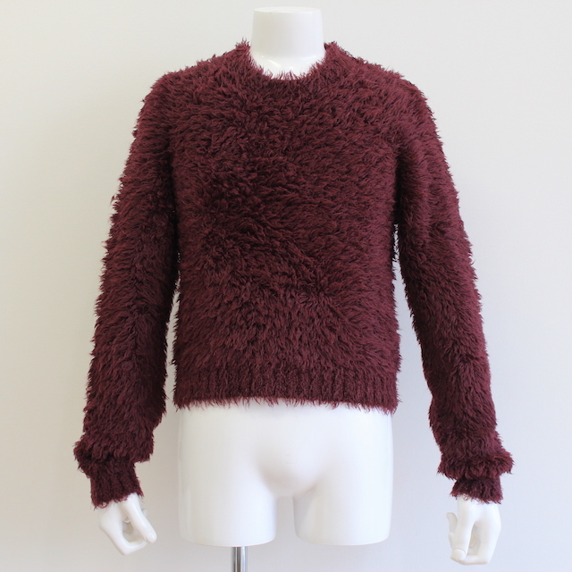 JOHNLAWRENCESULLIVAN SHAGGY KNIT SWEATER