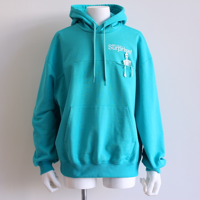"doublet ""SURPRISE!"" EMBROIDERY HOODIE MINT"