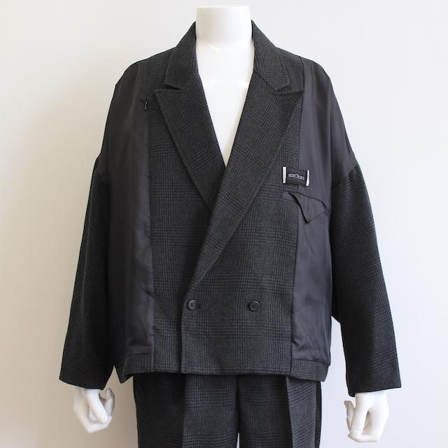 elephant TRIBAL fabrics INSIDE OUT JKT BLACK