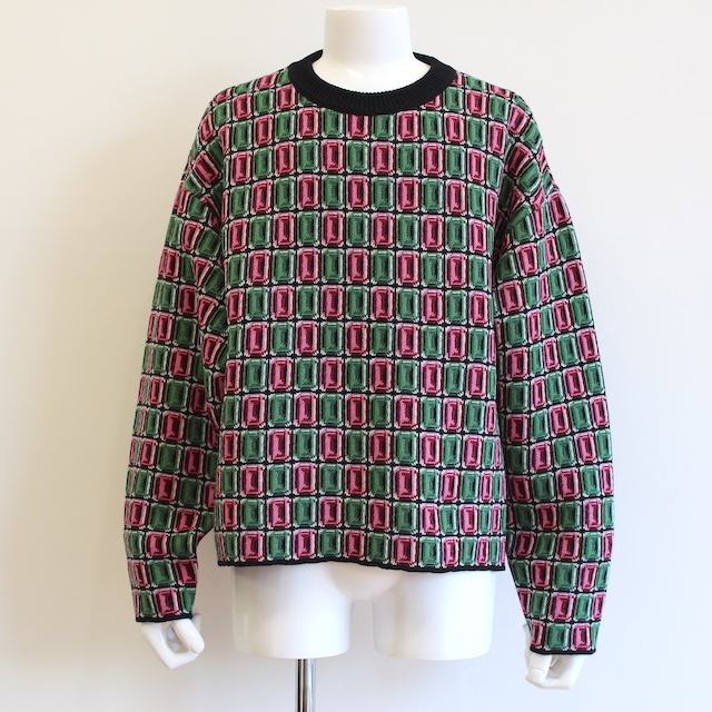 NEONSIGN JEWELZ SWEATER GREEN