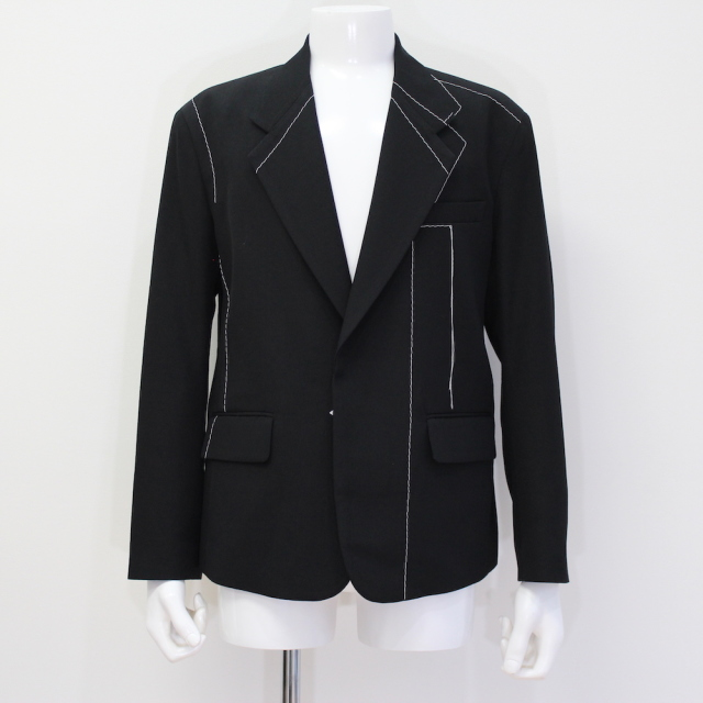 KUDOS BLUE PRINT JACKET BLACK