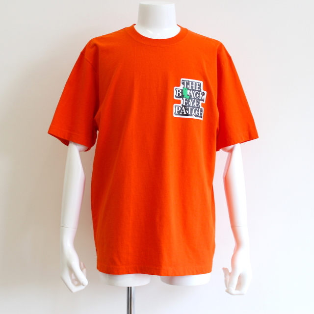 BLACK EYE PATCH × WHIMSY PAINT TRADERS TEE ORANGE