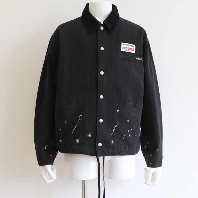 BLACK EYE PATCH × WHIMSY PAINTER JACKET BLACK